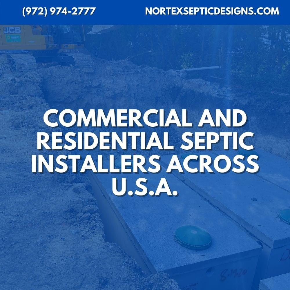 Septic Tank Installation Texas